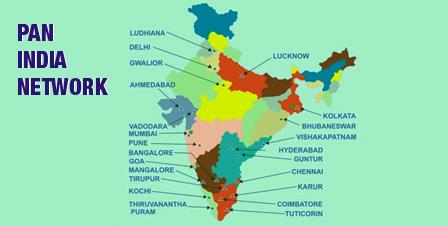 Pan India Presence of Balmer Lawrie Logistics